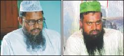 asadullah al galib(left) and bangla bhai.