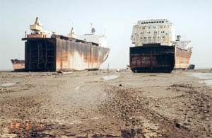 ship wrecking industry