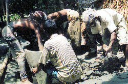 First Dug Well in Noakhali district