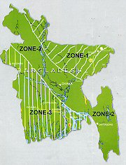 earthquake zones- Bangladesh