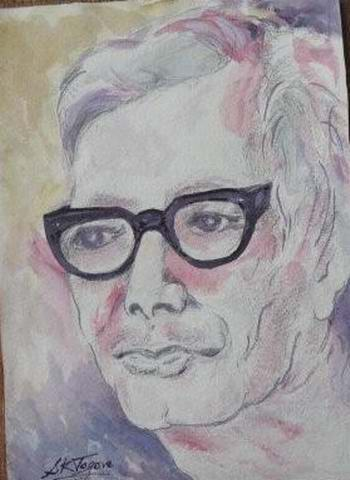 art by Prof. Sandip Tagore