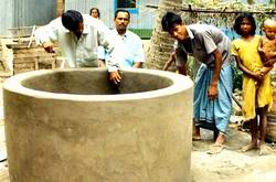 dug well at Tulagram, fridpur